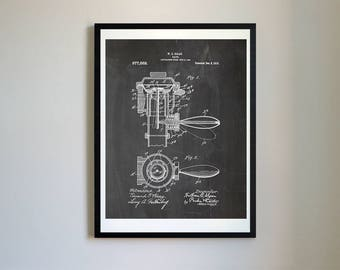 Patent evolution floppy disk vector blueprint patent prints flushometer toilet 1910 vector blueprint patent prints posters first valve flushing toilet toilet invention 056 malvernweather Image collections