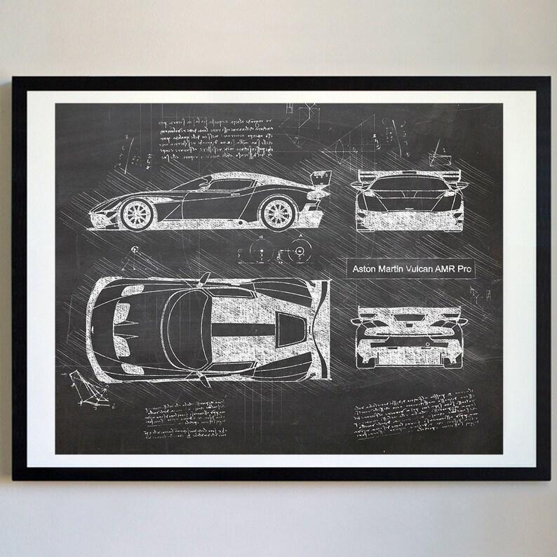Aston Martin Vulcan Blueprint