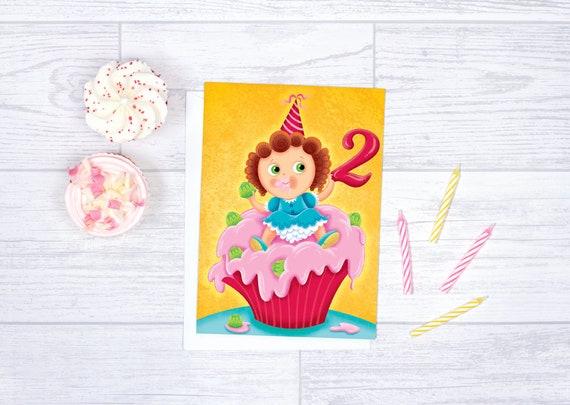 Birthday Card For Baby Girl Blank Anniversary