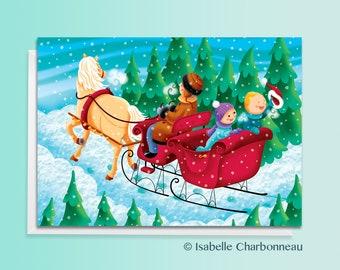 Christmas Card, Blank card