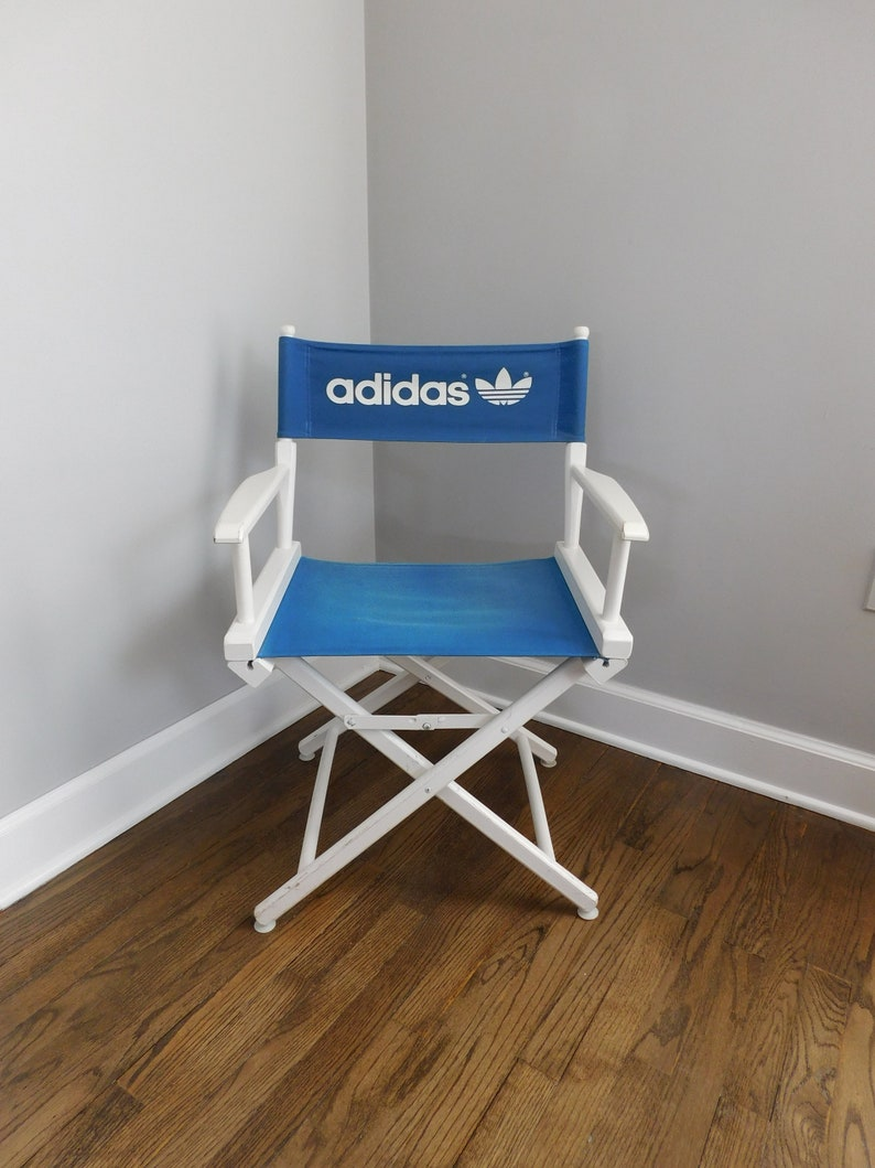 2db4a8a040c1 Vintage 1980 s ADIDAS Telescope Director s Chair