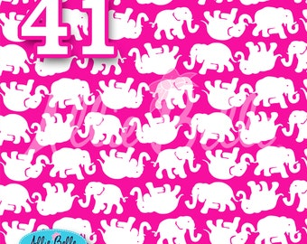 """Lilly Pulitzer Inspired Kinis In The Keys Vinyl  12/""""x12/"""" Sheet"""