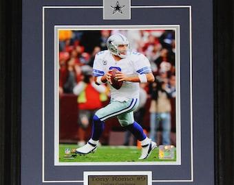 2e5bce222de197 Tony Romo Dallas Cowboys NFL football 8x10 frame