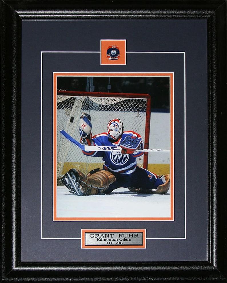 Grant Fuhr Edmonton Oilers 8x10 Frame