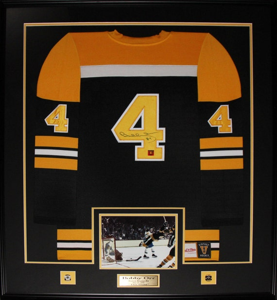 7a13070fd ... usa bobby orr boston bruins signed jersey frame etsy f3fb9 ba797
