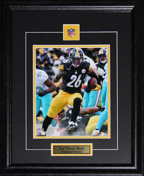 Le Veon Bell Pittsburgh Steelers 8x10 frame  5b84fc960
