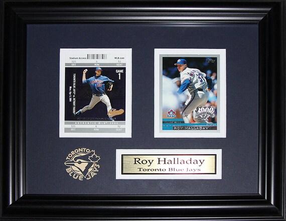 77ee576bc63 Roy Halladay Toronto Blue Jays MLB baseball 2 card frame