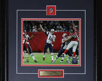 Tom Brady New England Patriots Superbowl LI 8x10 frame