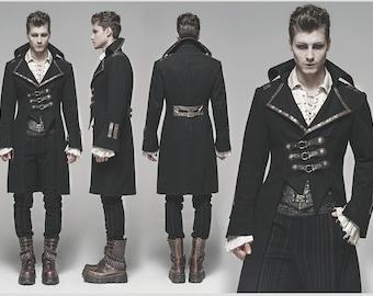 Steampunk Clothing Men Etsy