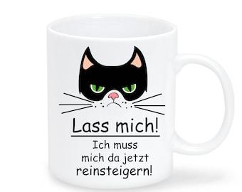 Kindergeschirr & -besteck Ernährung Tasse Becher Katze Kater Bis Mich Einer Knuddelt Kaffeetasse Geschenk Ts969