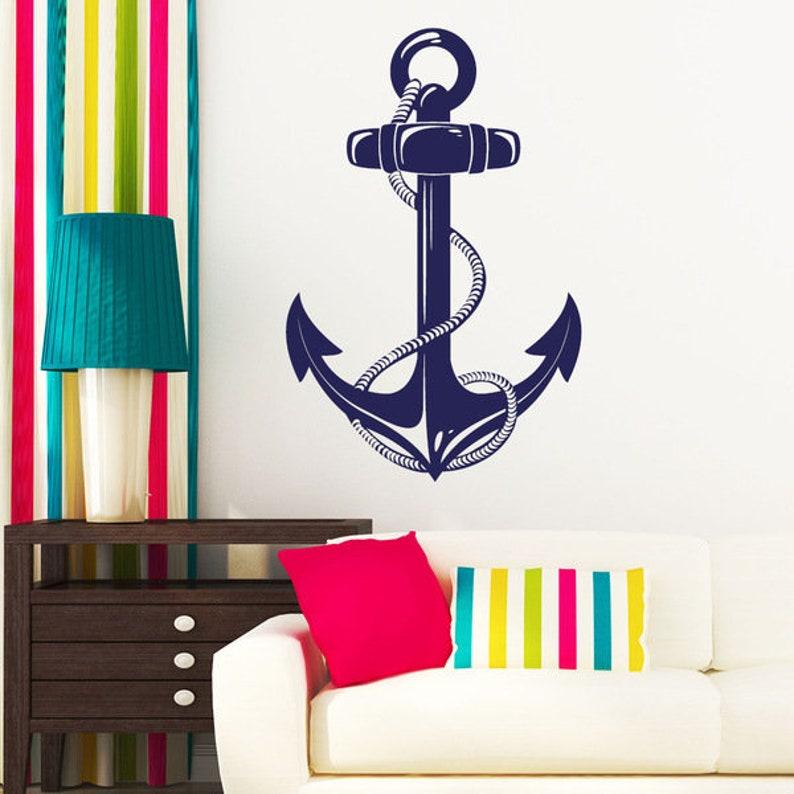 Wall Decals anchor Maritim ship anchor