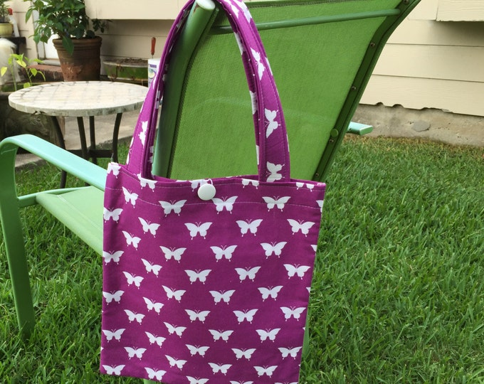 SALE - Matching Tote & Zipper Pouch