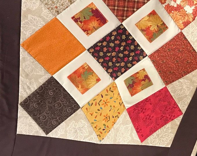 Quilted & Appliqued Table Runner/SALE