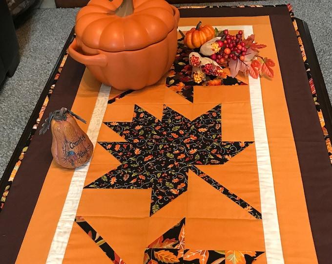 SALE-Falling Leaves Table Runner