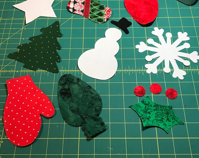 Fusible Christmas Appliqué  - 4