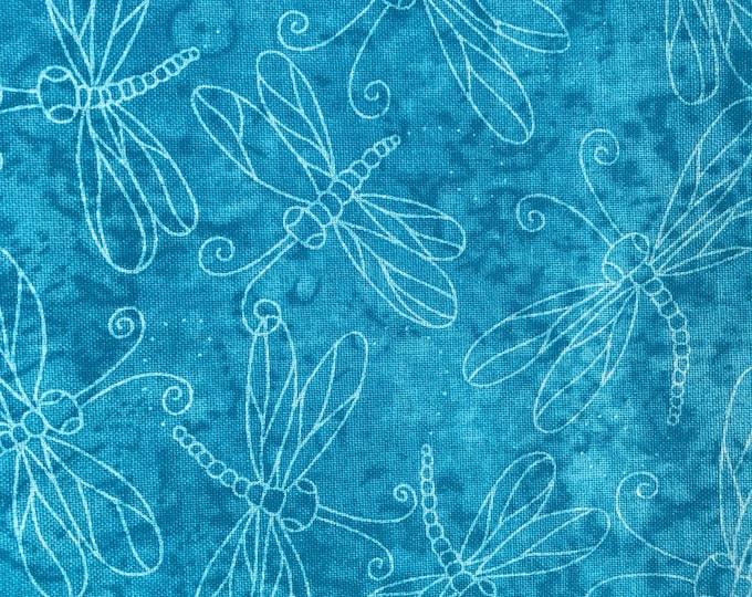 Keepsake Calico-Sundrenched Dragonfly Turquoise