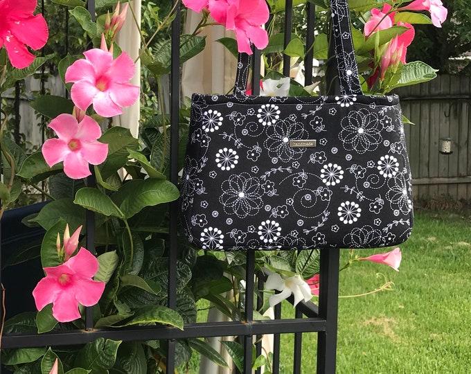 Baker Street Bag Black & White