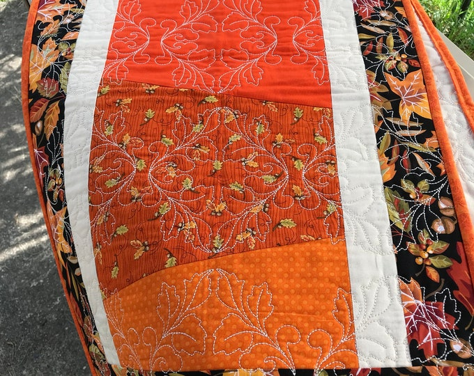 Quilted Thanksgiving Table Runner