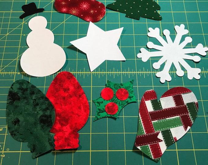 Fusible Christmas Appliqué  - 5
