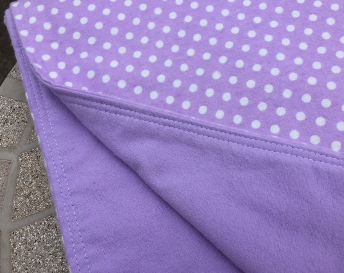 XL Reversible Flannel Receiving Blanket