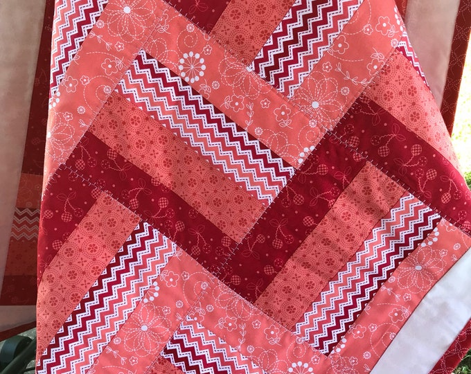 Girls Crib Quilt