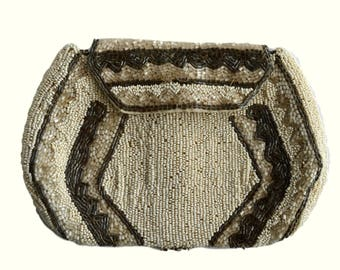 Vintage Art Deco Beaded Bag
