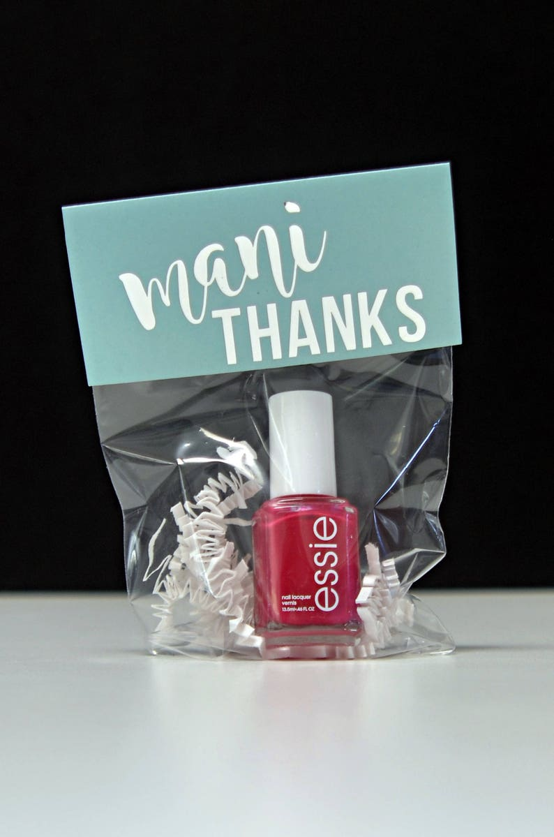 Nail Polish Party Favor Gift Bags Birthday Bachelorette