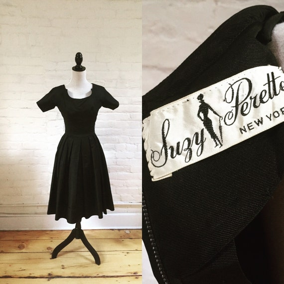 Midnight Hour Suzy Perette Vintage Cocktail Dress