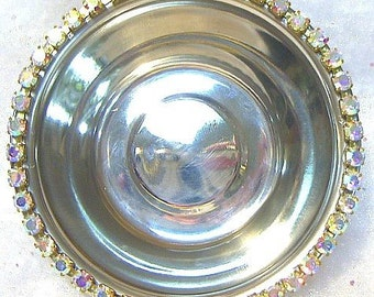 Rhinestone Food and Water Bowl Set