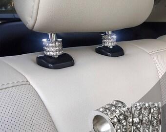 Car Armrest Pads Decoration MoreChioce 3D Bling Rhinestone Glitter Crystal Car Interior Styling Accessories Car Interior Decoration Cover