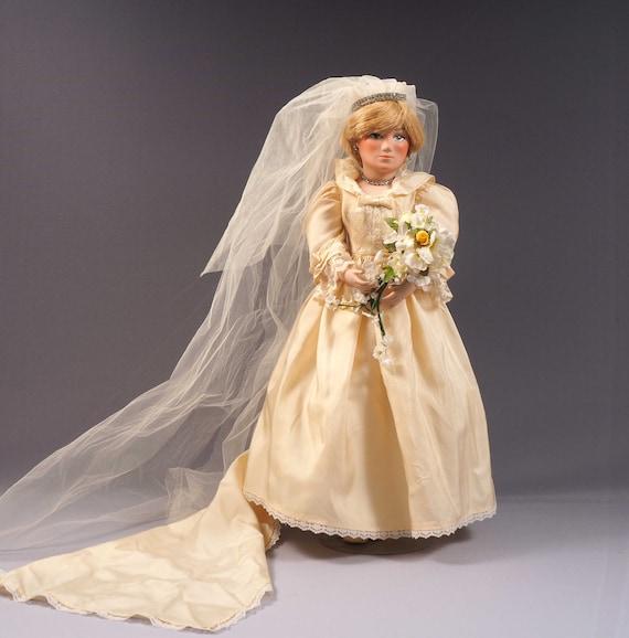 Rare Princess Diana Doll Wedding Dress Buckingham Palace Etsy