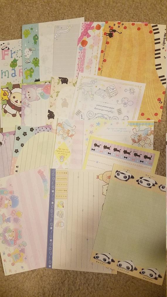 17 Large Kawaii Memo Sheets