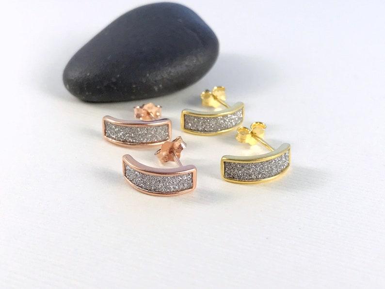Rose Gold Hoops Gold Dainty Hoop Earrings Small Hoop Earrings Post Hoop Earrings Open Hoop Earrings Minimalist Hoop Earrings