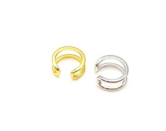 Cuff Earring - Ear Cuff - Gold Cuff Earring - Huggie Earring - Cartilage Earring - Ear Wrap - No Piercing - Minimalist Earring - Conch