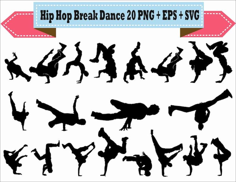 Hip Hop Break Breakdance Rap vieja escuela danza personas  c1549ec9c97