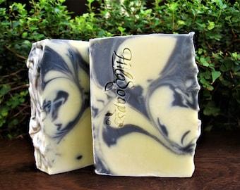 Facial soap, All Natural, Facial Cleansing Bar, Vegan Soap, Acne soap,  detox soap, Bamboo Charcoal Soap, Essential Oils soap, tea tree soap