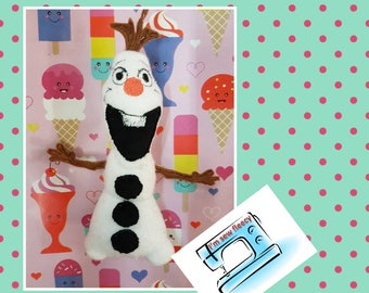 Olaf inspired soft toy