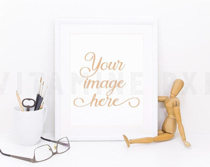 Print Frame Mockup, Print mockup, photography, white frame, artwork mockup, picture mockup, styled photo, stock photo, product mock-up