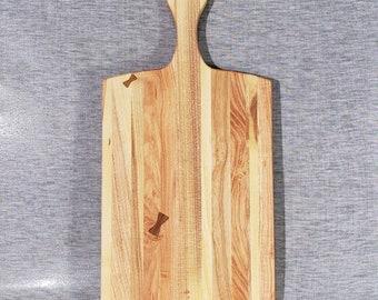 Black Locust Cutting Board Hand carved hard wood Bar board