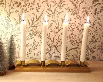 Christmas Candle Holder | Etsy