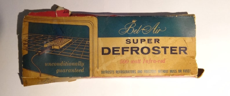 Bel Air Super Defroster For Refrigerators And Freezers