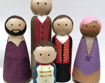 Greatest Showman inspired pegs