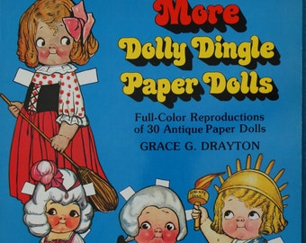 More Dolly Dingle Paper Dolls Book by Grace G. Drayton