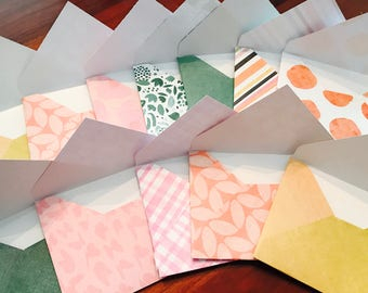 Assorted Mini Envelopes · 10 Pack
