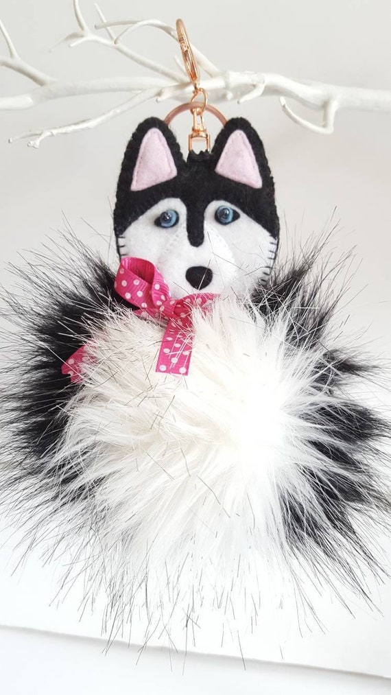 Malamute Dog Gift Clothing Jewelry Dog Charm Gift Zipper Pull Jacket Accessories