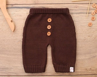 Baby pants pumphose knitted wishful color