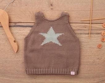 Baby Child tank top star Retro