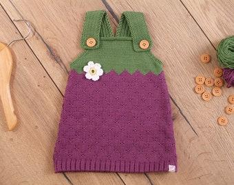 Dress blackberry dress berry dress baby child 50-104