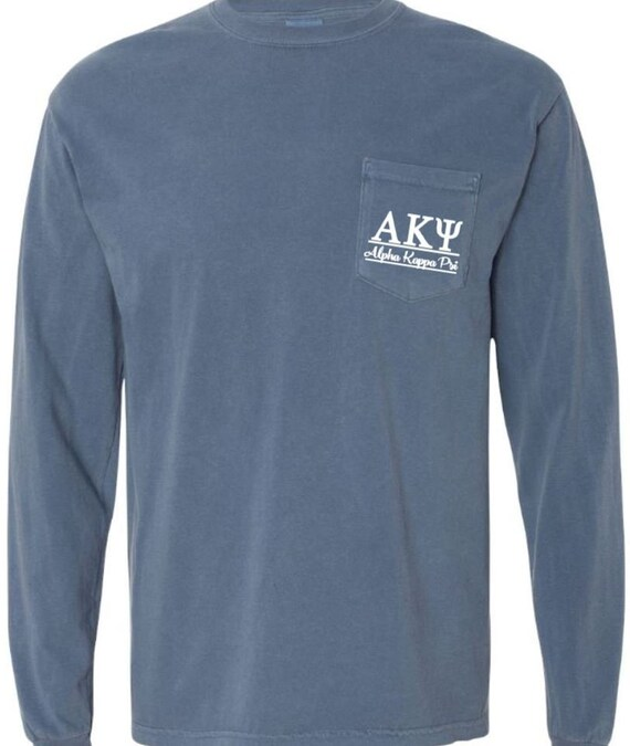 Greek Letter Before Kappa.Alpha Kappa Psi Tshirt Greek Letter Shirt Sorority Shirts Imprinted Shirt Long Sleeve Tee Shirt Big Little Gift Sorority Tshirt