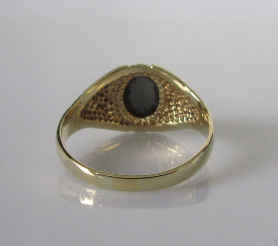 9ct Gold Pre-Owned Centurion/'s Roman Head Ring